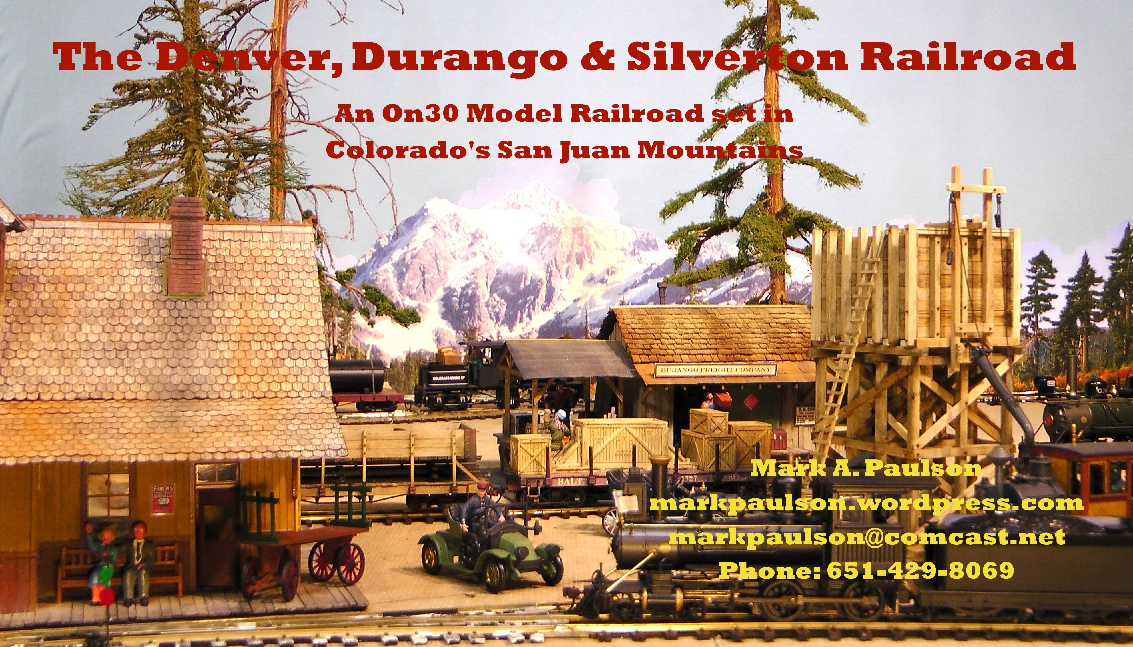 Business Cards   The Denver, Durango & Silverton Railroad