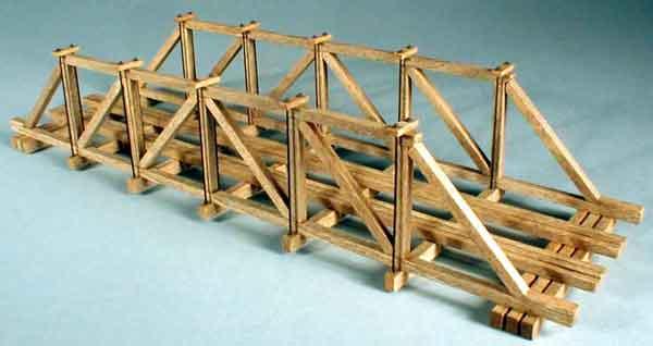 small wooden bridge plans