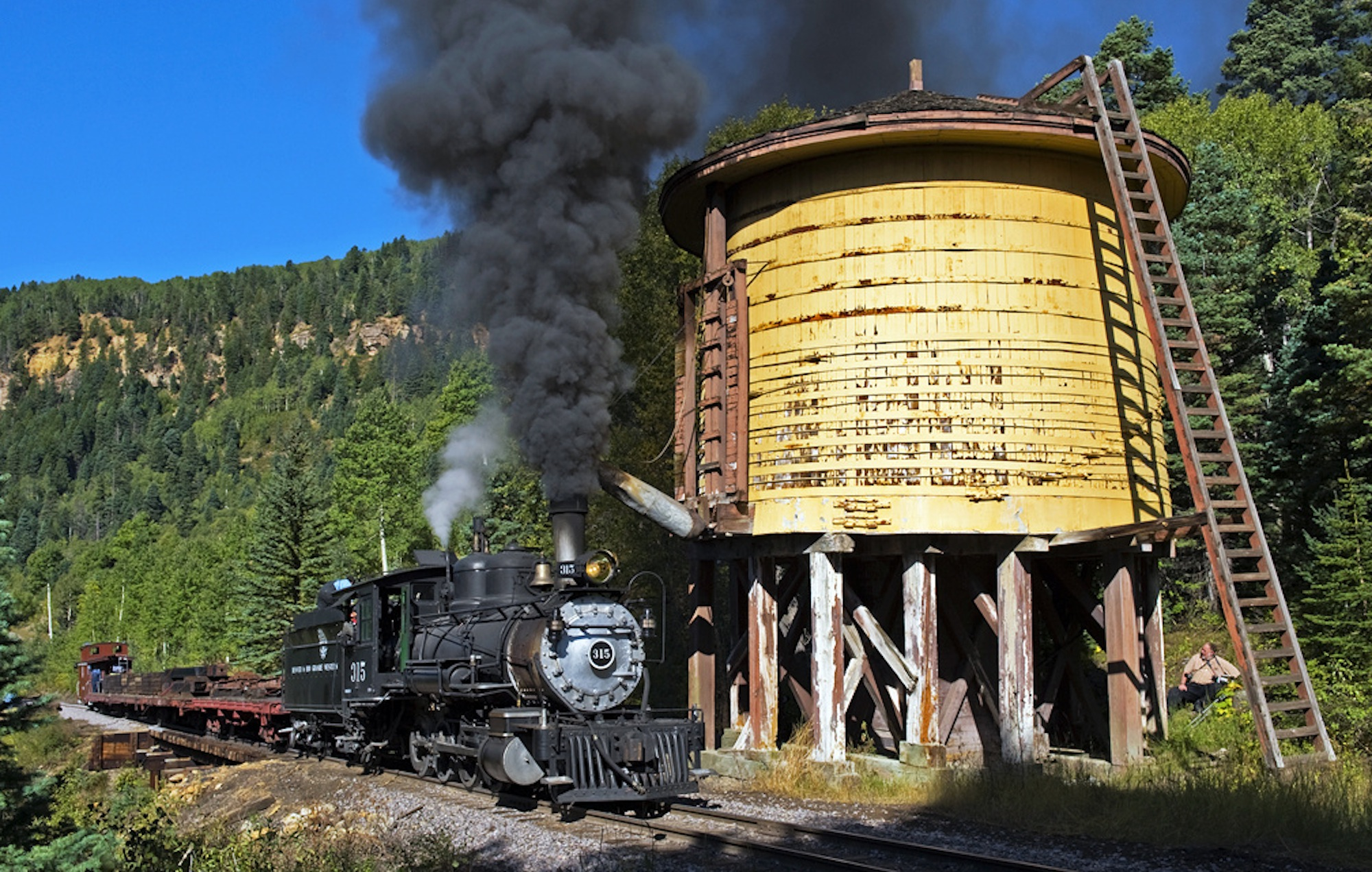 Three o scale water towers the denver durango silverton railroad in freerunsca Choice Image