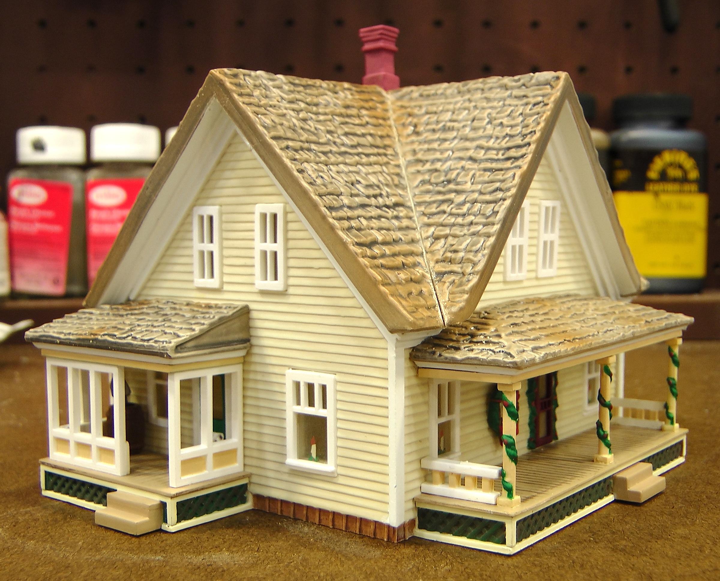More ho half houses the denver durango silverton railroad for Building model houses