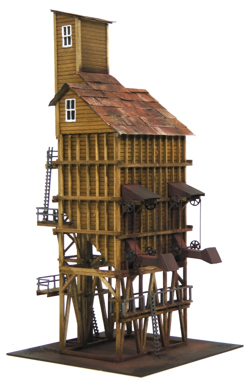 N Scale Coaling Tower Kit The Denver Durango