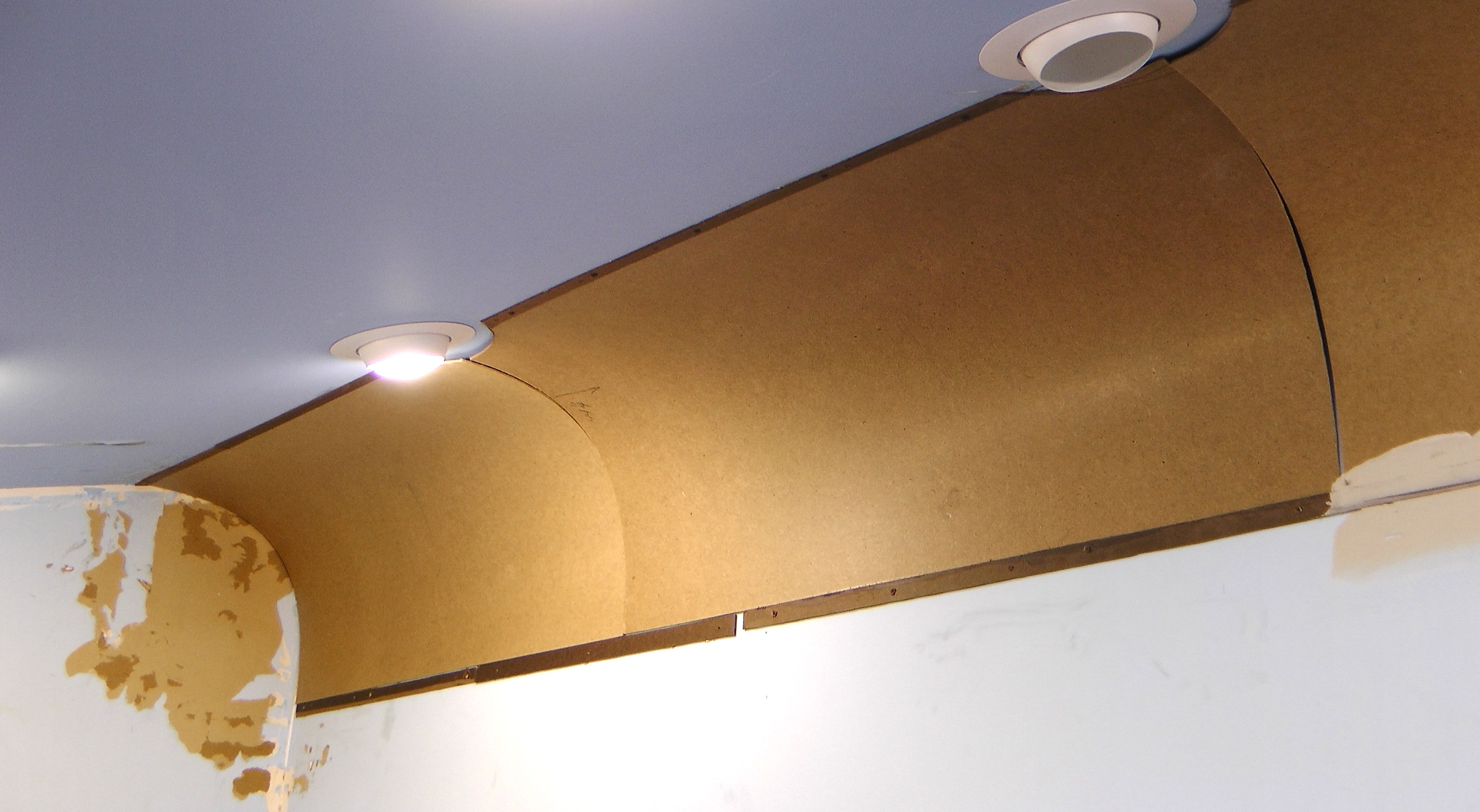 Curved Ceiling Corners Wwwenergywardennet