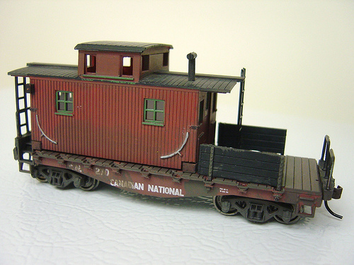 This is the first of several research pictures I used to design and build a Maintenance of Way Caboose for a friend of mine in England.  He models On30 Colorado Narrow Gauge, like I do, but considerably further away.