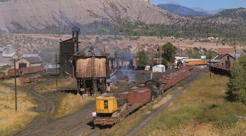 Here is a photo of the actual yard at Durango, Colorado, taken in 1965.