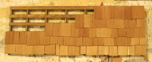 I love doing cedar shingles, and although they are more time-consuming, the look they give is great.