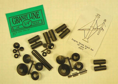 I'll use the Grandt Line engine house chimney kit.