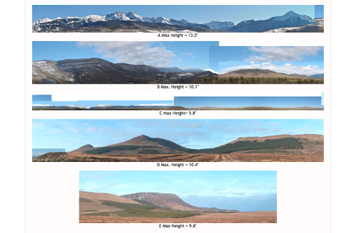 Dave has several dozen high resolution images of different kinds of mountains