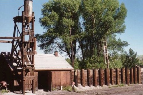 The sand house at Chama, New Mexico, which still exists, is the prototype for my sand house at Durango.  Both were built by the Denver & Rio Grande Railroad.