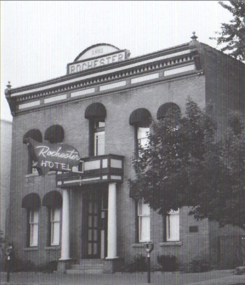 The original Rochester Hotel in Durango was built in 1892, and the basic structure is still there today.  I'll be building the 1892 version, of course.
