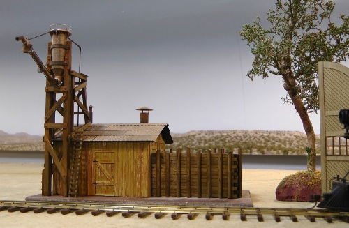 The sand house positioned just in front of the engine house.