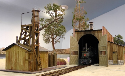 Sand house and engine house together.