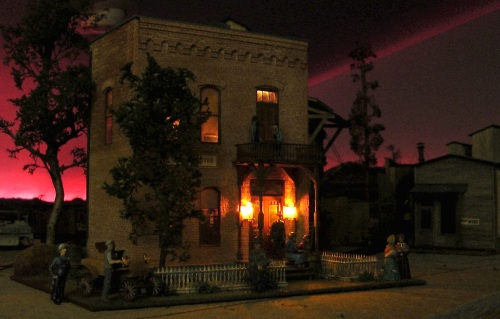 Durango by night is still a fascinating place.