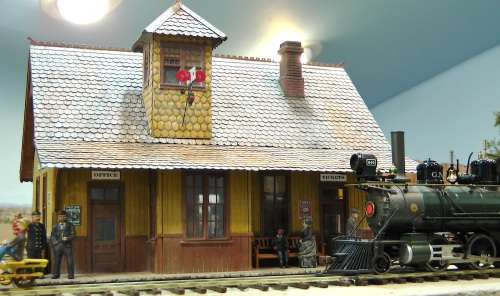 One thing that has never changed is the location of the Durango Depot; it is still right at the front edge of the layout.