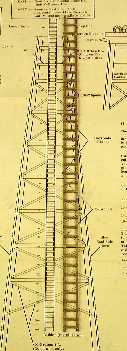Here is a comparison of the alterations to the ladder.