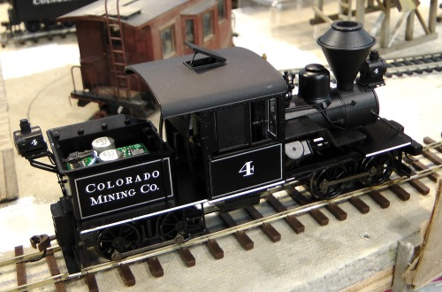 Since the beginning of December, I've been working on a number of small projects, none of which warrants a complete article post.  Here is one of Bachmann's relatively new Heisler geared locomotives.  You can buy them (I recommend The Favorite Place on eBay; watch for good deals on Ray's auctions)