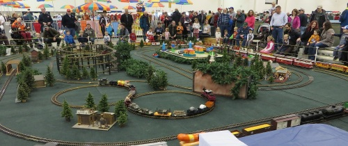 .....or stand and wonder at.  Over 5,000 people attended this show on Saturday, and probably more than 4,000 on Sunday.
