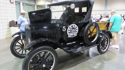 A restored Model T Ford that was actually used by the D&RG.