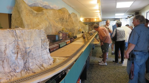 Another layout which is finished to a large degree is Steve McKee's RGS & D&RGW RR.