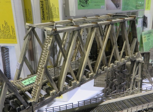 Hunterline Products was there with their stunning bridgework in all scales.