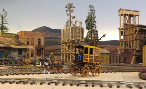 This is the Light Delivery Wagon from McKenzie Iron & Steel put out by Anvil Mountain Models.