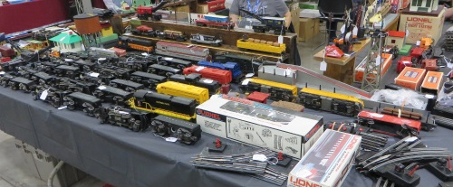 There was the usual selection of vintage railroad equipment.