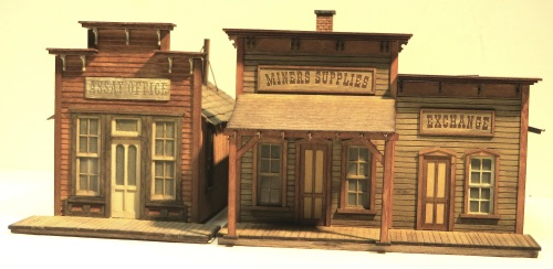 Here is a representative street scene with the S-scale projects.