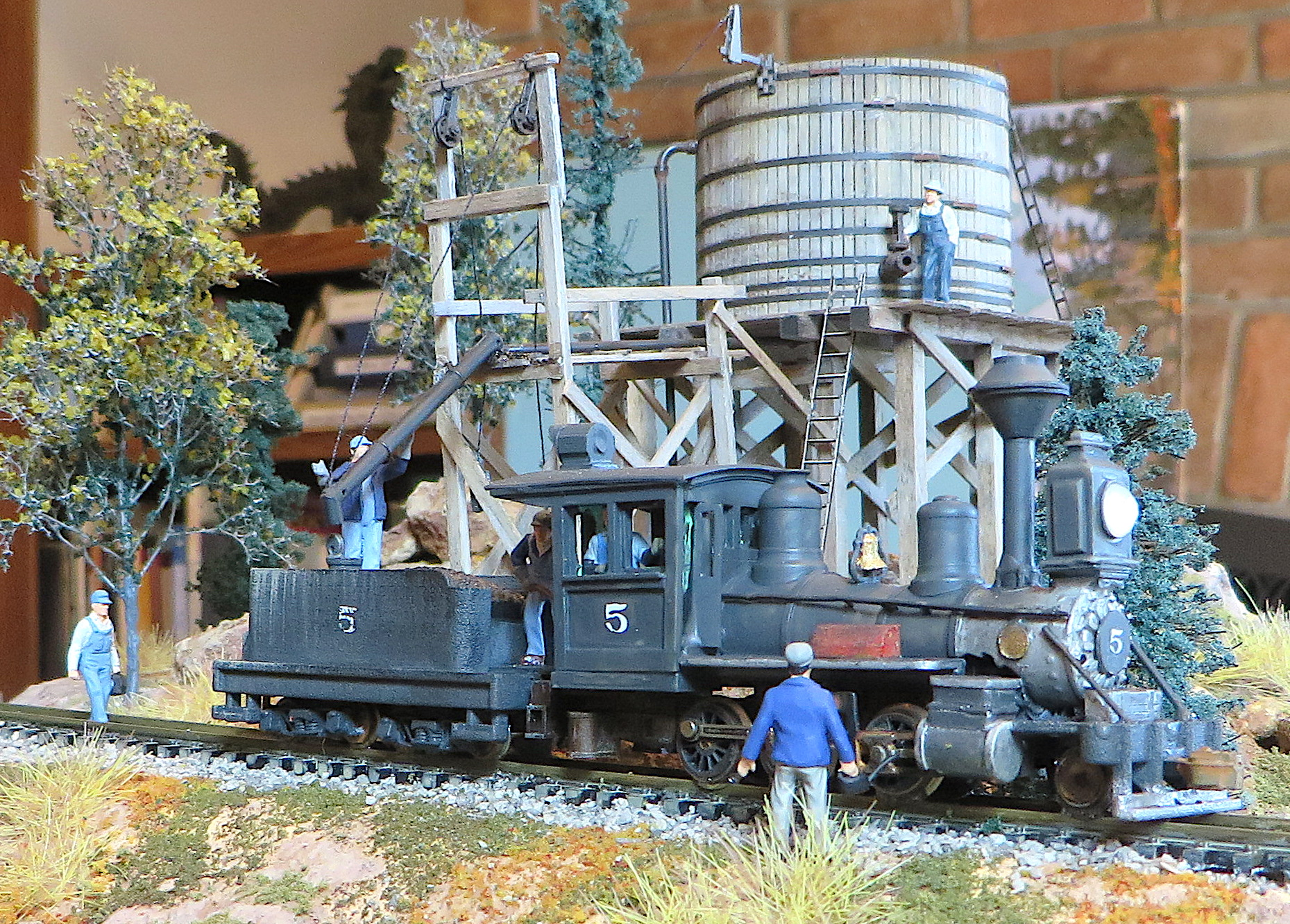 HOn30 4-Wheel tender Craftsman Kit by Railway Recollections